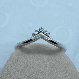 Tiara Wishbone Ring Size 56 EU/ 7.5 US